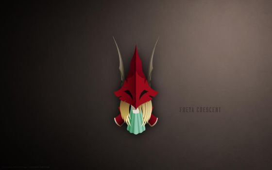 Freya Crescent Wallpaper by bigponymac