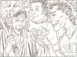 Panel from 'Dealers' 63 by The-Real-NComics