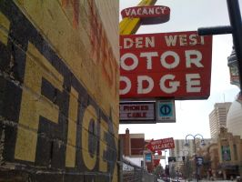 Reno in the Snow: Golden West Motor Lodge 1 by enigmaticsmile