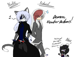 .:Hunting Partners:. by NightSaber