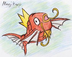 129 - Magikarp by JacobMace