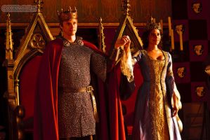 King Arthur and his Queen by MagicalPictureMaker