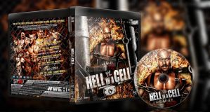 WWE Hell In A Cell 2012 Blu Ray by SeriousDesigns