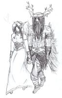 WoW: Malfurion and Tyrande by Kill-Bloody-Rosesxxx