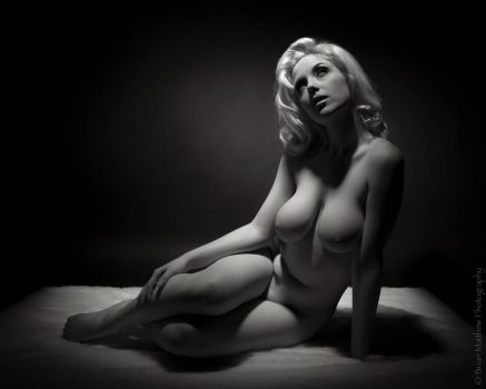 Cherie Artistic Nude by BrianMPhotography