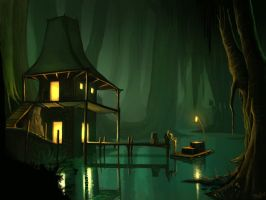 The Swamp Port by JOPPETTO