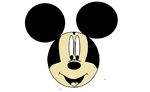 Mickey Mouse done on paint by Djwolf511