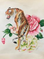 Lima Shio - Tiger by MonicaSutrisna