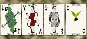 School Group III cards - Spades by Squirrel-slayer