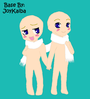 Base: Chibi Couple by JoyKaiba
