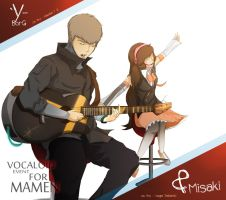 Vocaloid ver Misa And Y-BorG by ExosFear94