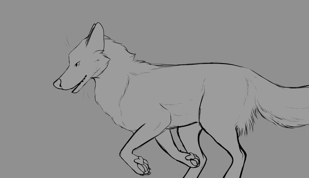 Running Wolf YCH Auction CLOSED by Symmetrisk