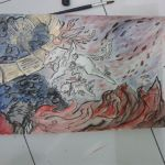 Amaterasu and Chibiterasu versus Orochi by ravencross14
