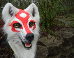 Amaterasu head outside 2 by DrakonicKnight