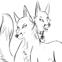 Comission Sketch by Hollowmutt