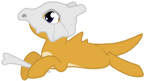 Cubone Pony by Nukeleer