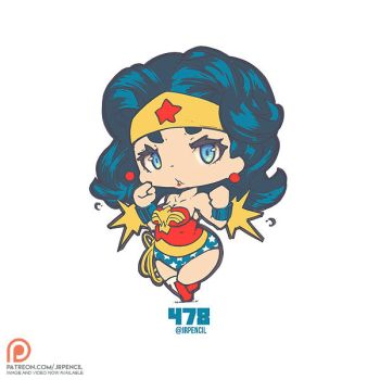478 - Classic Wonder Woman by Jrpencil