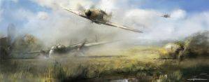 We were in battle of Britain S/Ldr. Alexander Hess by VitoSs