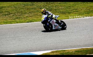 Valentino Rossi in GP Spain by potychan