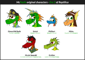 McTaylis OCs - Era 2 of Reptilica by McTaylis