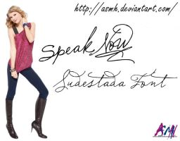 Taylor Swift Font by ASMH