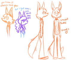 Vinny Sketches by CandyBattleaxe