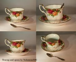 Teacup and Spoon by Nolamom3507