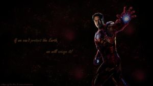 Iron Man wp by ViraMors