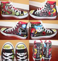 Keep Running - Killjoy Converse by ZombiesAteMyHomework