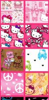 Hello Kitty Set 2 by krystalamber2009