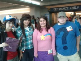 Gravity Falls Cosplay Group by Closer-To-The-Sun