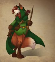 Commission:  Ranger Vixen by zillabean