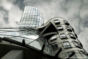 Dancing House by Policarpo
