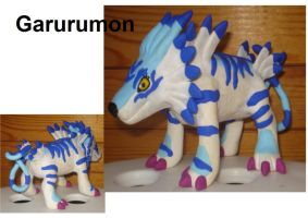 garurumon by wolengel