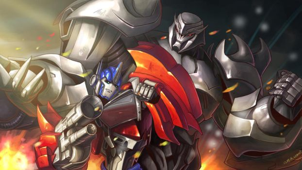 transformers Prime( reupload) by wcomix
