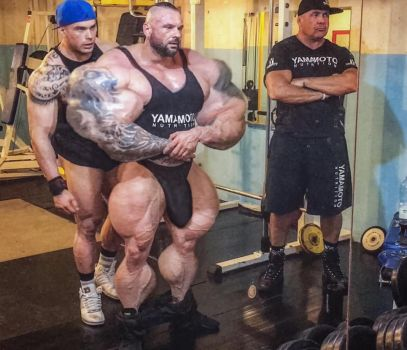 Miha Zupan, Muscle Monster by dhandler19