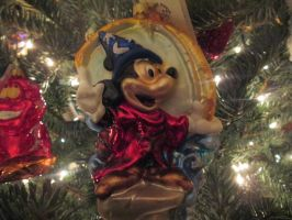 Sorcerer Mickey Mouse ornament by renthegodofhumor