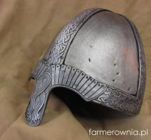 Norman Helmet - side by farmerownia