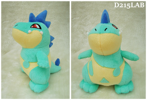 Shiny Croconaw Plush by d215lab
