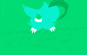 100 Palette challenge 65 its raining by D0omy