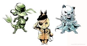 Metal Gear Pokemon by arkeis-pokemon