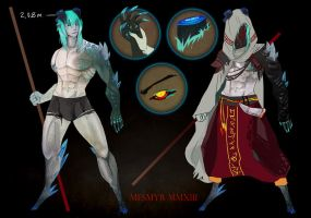 Caneeva: Greater Demon evolution stage by mesmyr