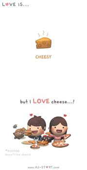Love is... Cheesy by hjstory