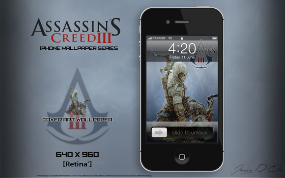 AC3 iPhone Retina Wallpaper - Cover Art by tazerguy