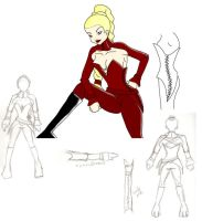 Mord Sith Costume-Rotation by Sakena