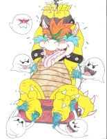 Bowser Tickle Torture Request Attack of the Boos by KnightRayjack