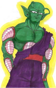 Piccolo in color by kinkywinky