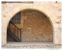 France: Stairs and an Archway by Uttermost