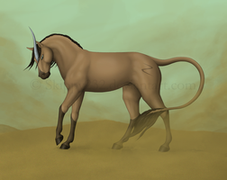 Stallion of the Sands by MitheaLaval