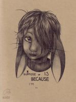 I Guess It Is Because... by AnzennaArtz
